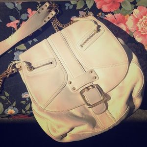 Cream/White Purse - DKNY